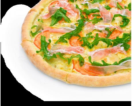 Пицца Прошутто-Пера DeLuxe
